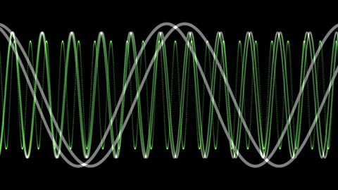 Electronic Wave form (loop) Animation