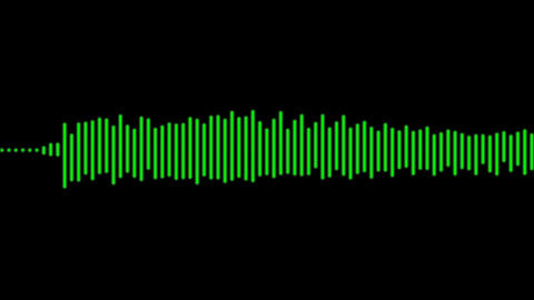 Electronic Digital Audio Wave Form Stock Video Footage