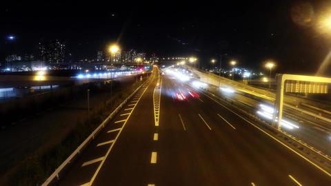 Metropolitan Expressway Gulf Road near Ariake/ Footage