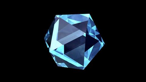 Diamond rotation Animation