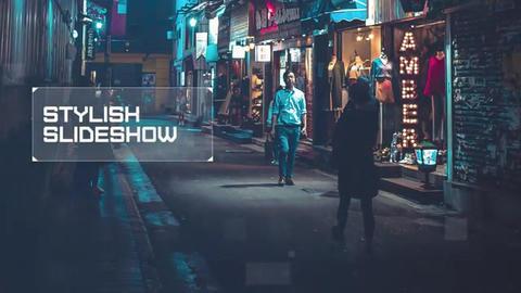 Slideshow - Digital Mosaic // Premiere Pro Premiere Proテンプレート