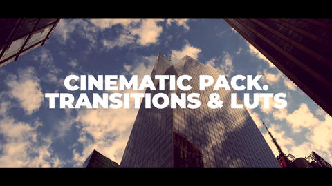 Cinematic Pack Premiere Proテンプレート