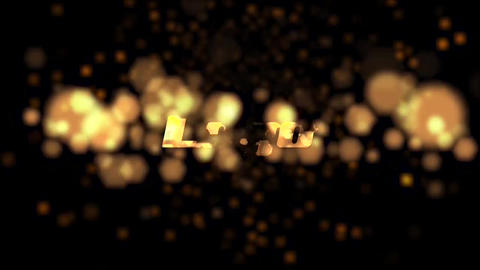 Gentle Bokeh Particle Logo Pack After Effects Template