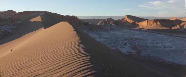 Moon Valley Atacama Desert Fotografía
