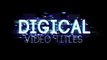 Digital Video Titles & Lower Thirds After Effects Template