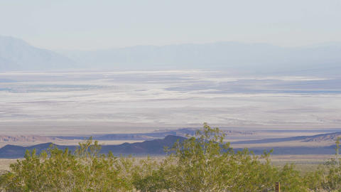 The infinite landscape at Death Valley California Live Action