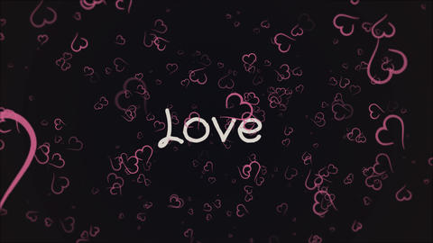 Animation Love, greeting card Live Action