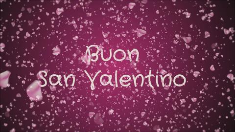 Animation Buon San Valentino, Happy Valentine's day in italian language Live Action