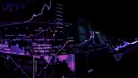 Market Indices Animation