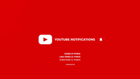 Youtube Notifications Premiere Proテンプレート