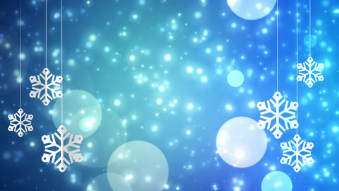 Winter Frame Background 03 Animation