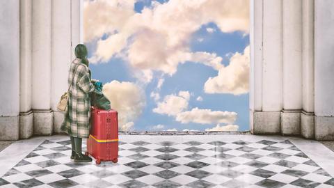 Travel To Heaven Animation 1 Animación