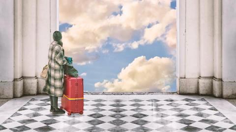 Travel To Heaven Animation 1, Stock Animation