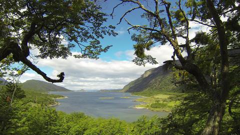 Ushuaia Argentina Lake Live Action