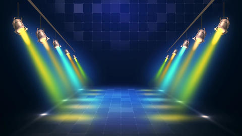 Stage Light Background Animation
