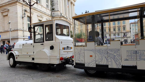 Tourist Train Tour In Nice France Live Action