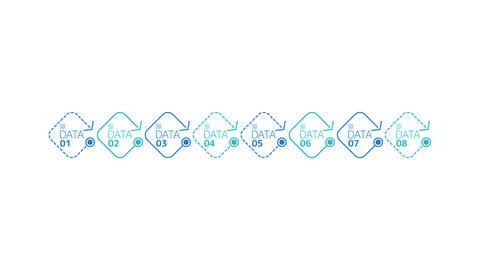 Infographic Element - Timeline Animation