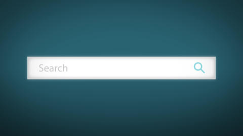 Internet Search Engine Field Background Loop Animation
