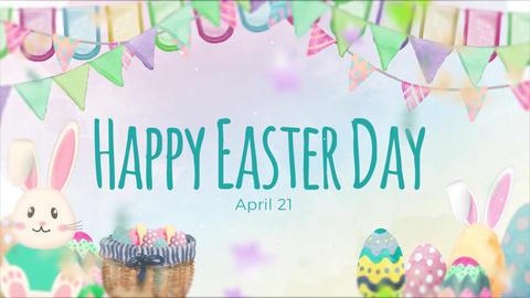 Easter Slideshow After Effects Template