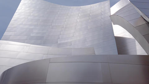 Walt Disney Concert Hall in Los Angeles Downtown - LOS ANGELES, USA - APRIL 1 Archivo