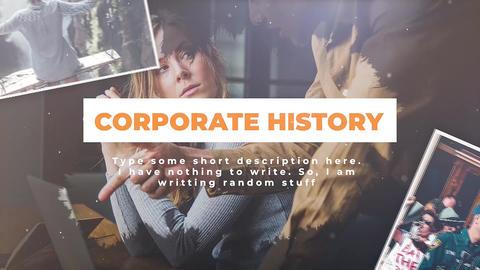 Corporate History Premiere Pro Template