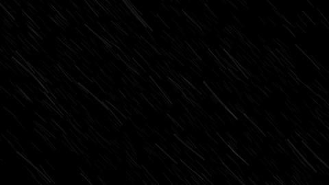 Heavy rain with alpha, looped Animation