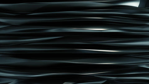 Wavy bands Background reflective Dark blue metal top view GIF