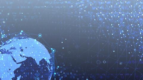 Earth on Digital Network 18 J2Gx 4k Animation