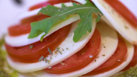 Capresa Salad Live Action