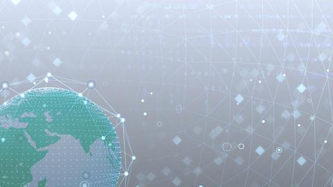Earth on Digital Network 18 J2Wx 4k Animation