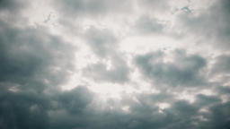 Time Lapse Clouds - Layer of Dramatic Clouds Darkening the Sky (4k) Live Action