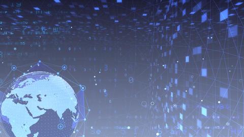 Earth on Digital Network 18 N1Gx 4k Animation
