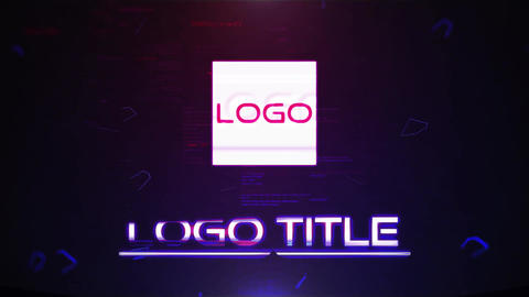 Digital Cinematic Logo reveal ME After Effects Template