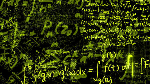 Mathematical Formulas Animation
