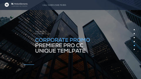Corporate Promo Premiere Pro Template