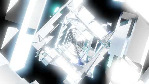 VJ Tunnel Loop 04 CG動画