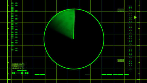Radar Screen (loop) Animation
