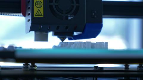 3D Printer at Work GIF