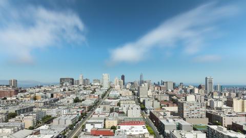 Time Lapse of San Francisco California GIF