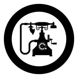 Vintage telephone retro rotary plate Antique phone Old phone Retro phone Rarity telephone Vintage Vector