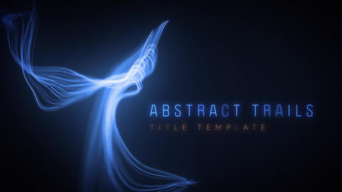 Abstract Trails Motion Graphics Template