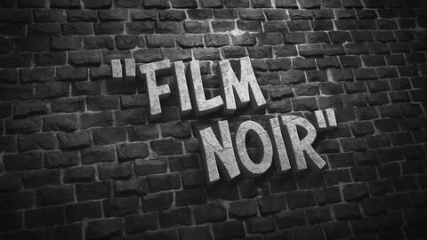 Film Noir Titles Motion Graphics Template