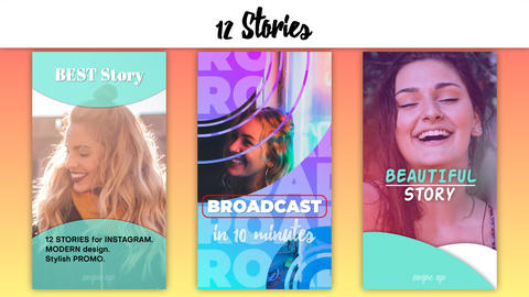 Story Instagram After Effects Template