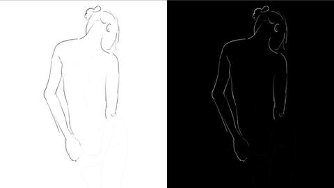Drawing Art Process Animation