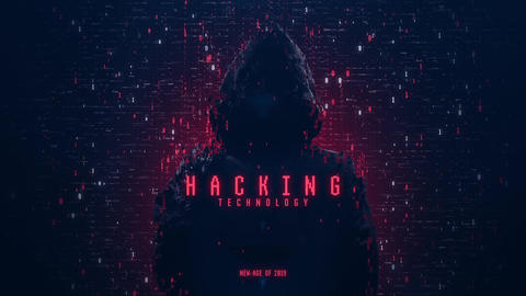 Hacker Logo Reveal After Effects Template