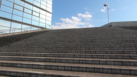 Stairs and blue sky ビデオ
