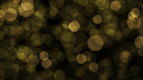 Gold Particles Overlay Animation