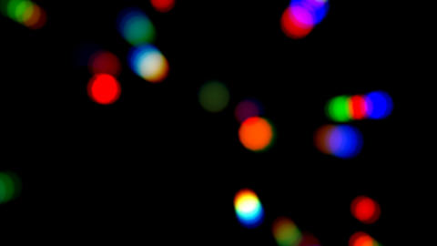 Dance Party Bokeh Overlay GIF