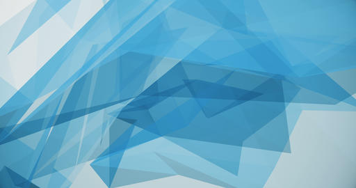 Blue Triangles 4K Animation Animation