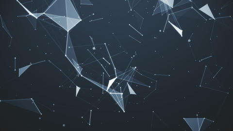 Plexus Geometry Background Animation